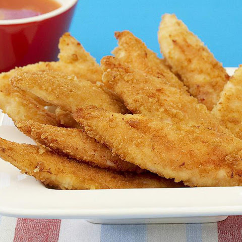 Oven-Fried Chicken Fingers