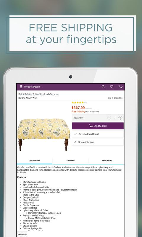 Wayfair - Furniture & Decor Screenshot 7