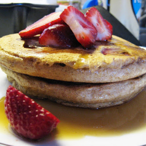 Whole Grain Buttermilk Pancakes