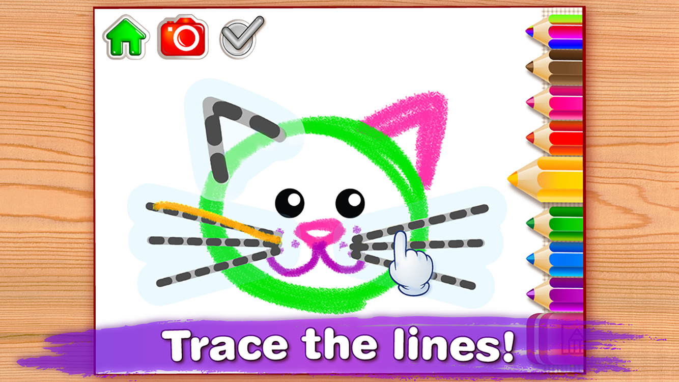 Drawing for Kids & Toddler PRO Screenshot 1