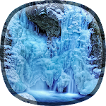 Frozen Waterfall HD Wallpaper 1.1.4 Apk