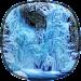 Frozen Waterfall HD Wallpaper Icon