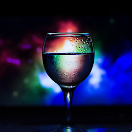 Cool by Kamal Mp - Food & Drink Alcohol & Drinks ( abstract, water, lighting, background, glass, photography, design )