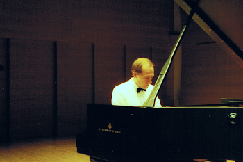 During a Live Recital at Casals Hall, Tokyo - probably my favourite recital hall and most certainly one of my favourite Steinways​