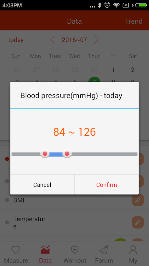 iCare Blood Pressure Pro Screenshot 6