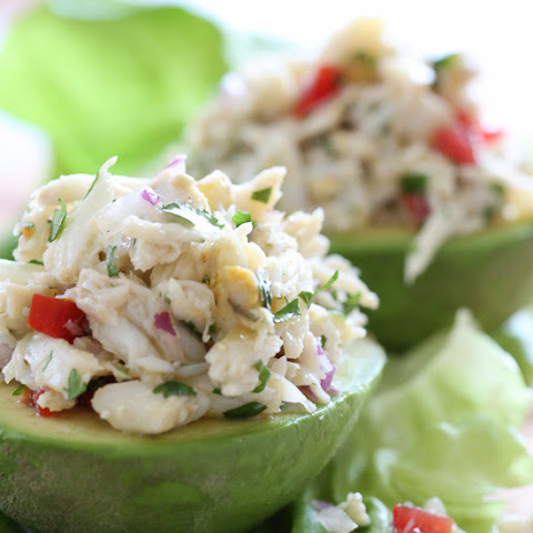 Avocado and Lump Crab Salad