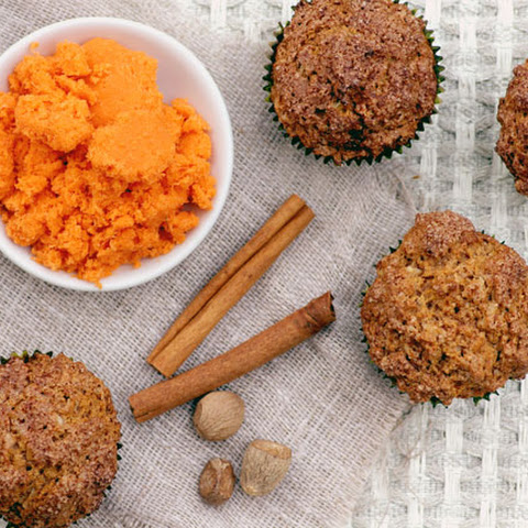 Carrot and Coconut Muffins (Gluten and Dairy Free)