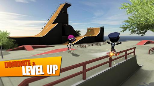 Stickman Skate Battle screenshot 2