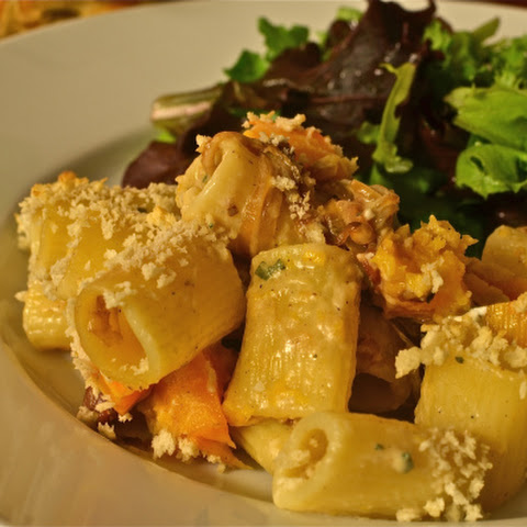 Mac and Cheese With Roasted Chicken, Goat Cheese, and Rosemary Recipe ...