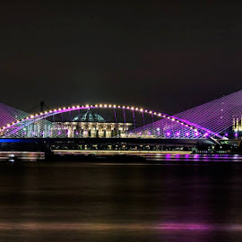 The golden bridge of putrajaya by William Wong - Buildings & Architecture Bridges & Suspended Structures