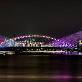 The golden bridge of putrajaya by William Wong - Buildings & Architecture Bridges & Suspended Structures