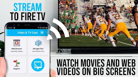 Video & TV Cast + Fire TV | Web Video Browser for pc