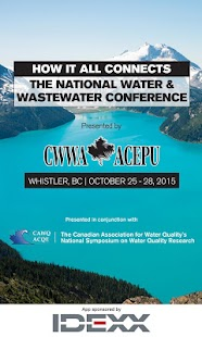 Water & Wastewater Conference - screenshot