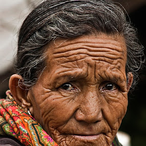Eyes.. by Veeresh Pathania - People Portraits of Women ( senior citizen )