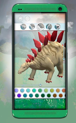 Dinosaurs 3D Coloring Book screenshot 7