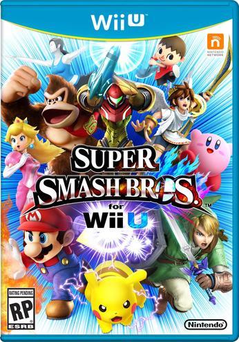 Super Smash Bros. for Wii U - box art