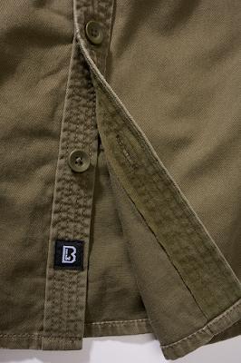 Brandit Ladies Vintageshirt longsleeve - Brandit - оливковый
