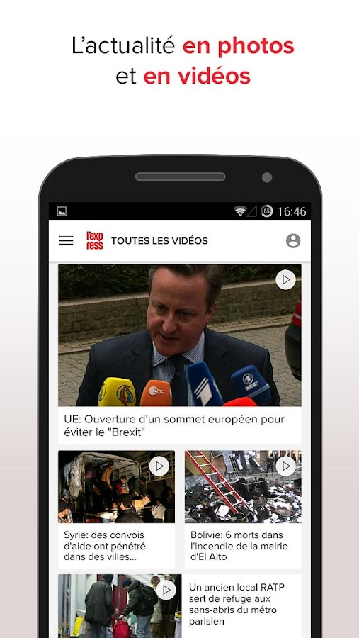 L'Express : l'actu en continu Screenshot 2