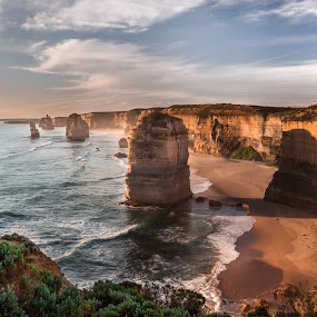 Twelve Apostles, Reprocessed by Joshua T. Wood - Landscapes Waterscapes
