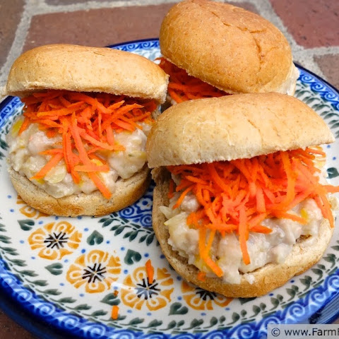 Pickled Pork and White Bean Sliders