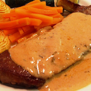 Steak with Whisky Sauce