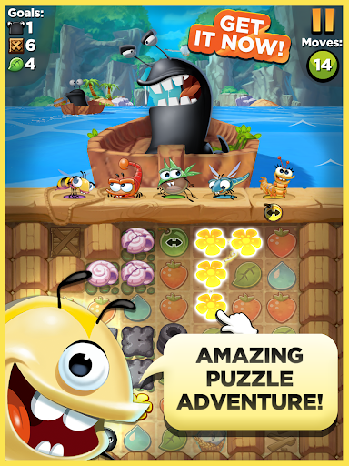 Best Fiends - Puzzle venture - screenshot