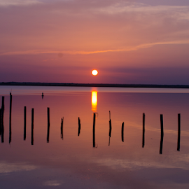 by David Ubach - Landscapes Sunsets & Sunrises ( clouds, water )