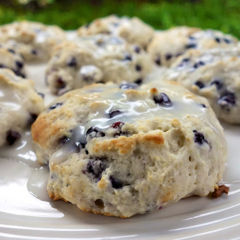 Quick Blueberry Biscuits