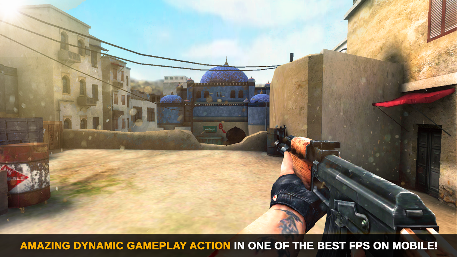 Counter Attack - Multiplayer FPS Screenshot 1