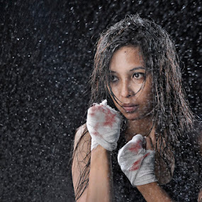 ladies fighter 3 by M Salim Bhayangkara - People Portraits of Women