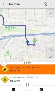 Ride with GPS - Bike Computer Fitness app screenshot for Android