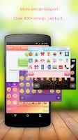 Screenshot of Emoji Keyboard - CrazyCorn