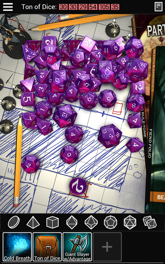 Dice To Go: Tabletop RPG Roller Screenshot 16
