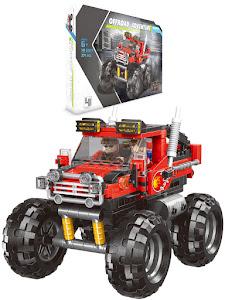 """Конструктор серии """"BrickBattle"""", внедорожник 4x4, красный"""