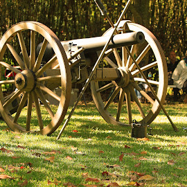 Civil war  cannon by Ron Olivier - Artistic Objects Other Objects ( civil war  cannon,  )