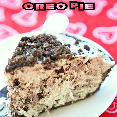 No-Bake Oreo Pie