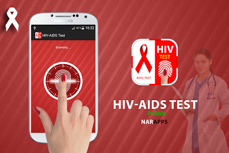 HIV-AIDS Test prank - screenshot