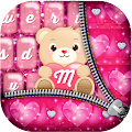 Pink Glitter Keyboard Themes