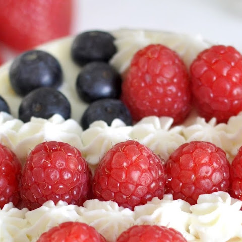 Fourth of July Berry Custard Cream Cups