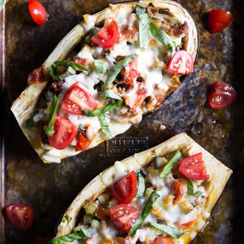 Julie's Stuffed Eggplant Boats