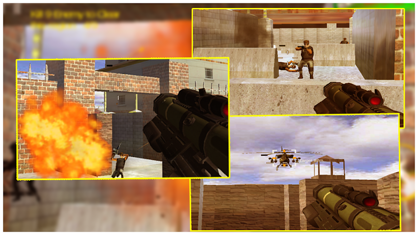 android Death Clash War Zone Mission Screenshot 3
