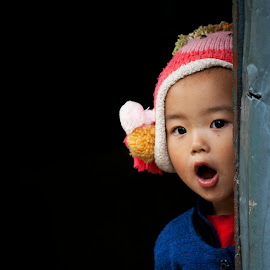 Surprised by Saptarshi Roy - Babies & Children Children Candids ( children, candid, kids portrait, surprised,  )