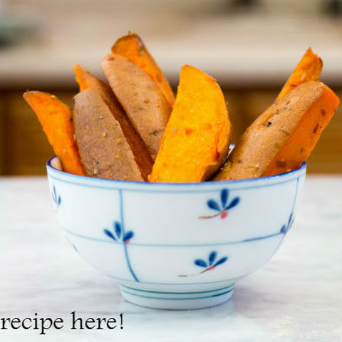 Quick and Easy Spicy Sweet Potato Wedges