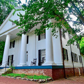 Family Home of Mittie Bullock Roosevelt by Victoria Eversole - Buildings & Architecture Public & Historical ( georgia, roswell, historical homes )
