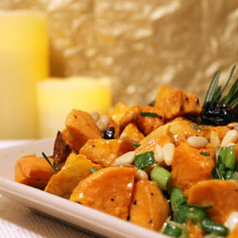 Festive Sweet Potato Salad