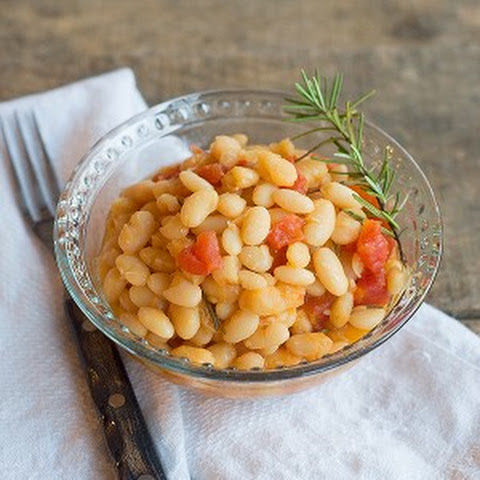 Great Northern Beans with Tomatoes