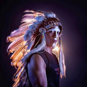 Black Eagle by Deddy  Heruwanto - People Portraits of Men