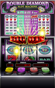 Double Diamond Slot Machine Screenshot
