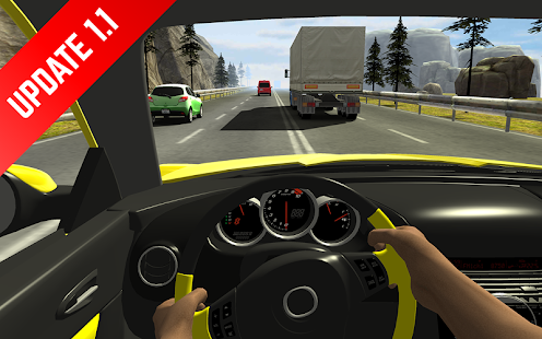 Racing in Car APK for Bluestacks