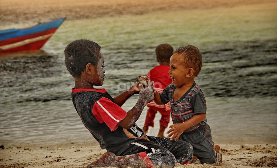 RajaAmpat Kids by DODY KUSUMA  - Babies & Children Children Candids
